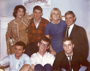 College Weekend '63: Carter, Weyman, Smith, Tierney (RIP) & Roscoe