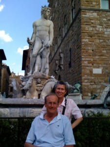 The Trotmans in Italy, 2012