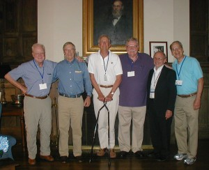 Mike Harrison, Rick Holloway, Stan Trotman, Jim Wood, Nelson Soltman, and Dick Wyles
