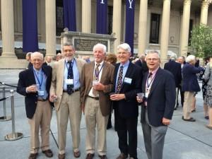 L-R: David Karrick, Charlie Helming, Jon Homuth, Frank Tubridy, John La Fond