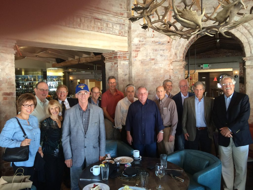Los Angeles 6Y5 Post-Reunion Lunch hosted by Jerry Libby, September 8, 2016